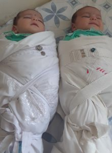 Born in Refuge: Helping the Helpless - two newborn babies at our BirthAid clinic.